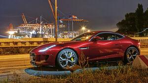 Jaguar F-Type R AWD Coupé, Seitenansicht