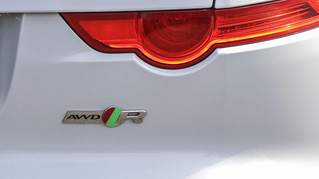 Jaguar F-Type R AWD, Exterieur