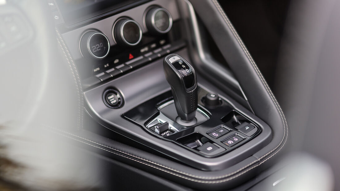 Jaguar F-Type R AWD, Interieur