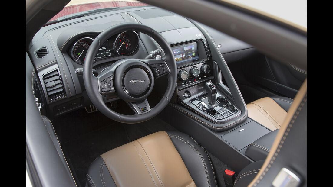 Jaguar F-Type R AWD Interieur