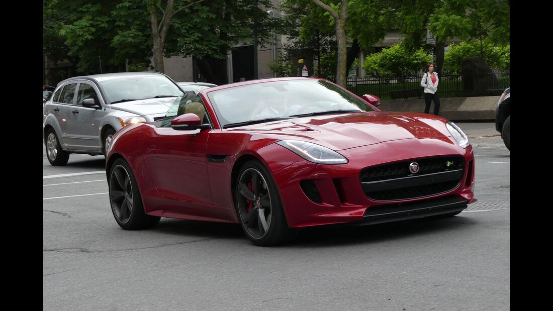 Jaguar F-Type R Cabrio - Carspotting - GP Kanada 2016 - Montreal