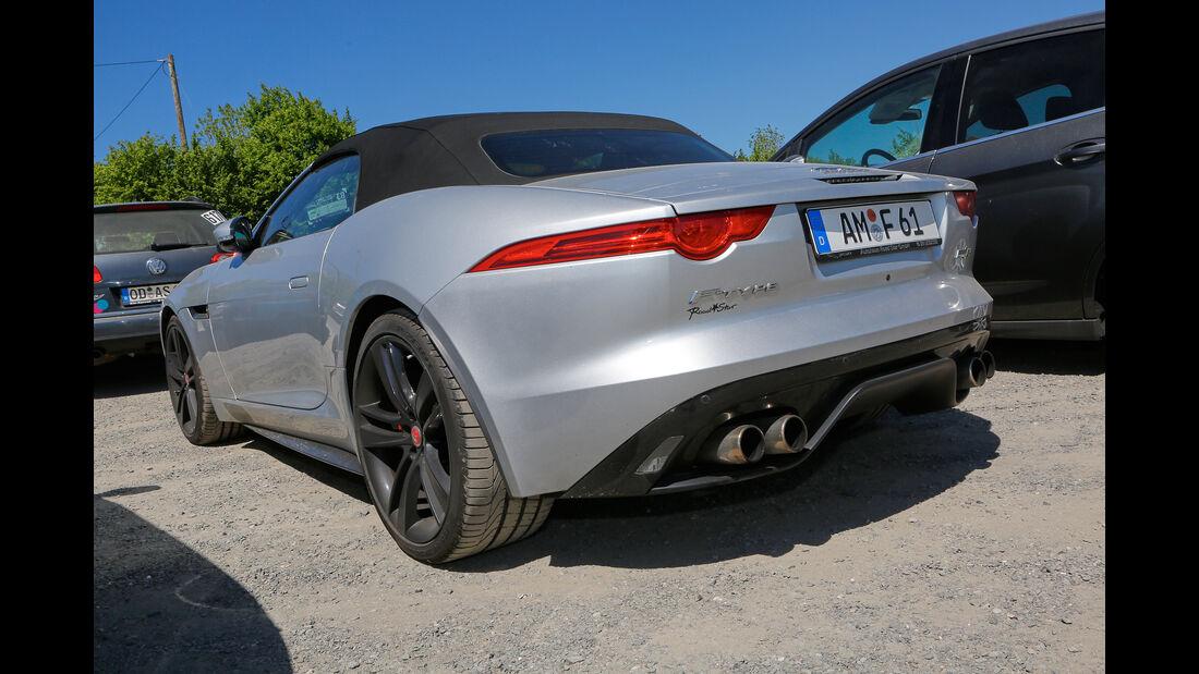 Jaguar F-Type R Cabrio - Fan-Autos - 24h-Rennen Nürburgring 2017 - Nordschleife