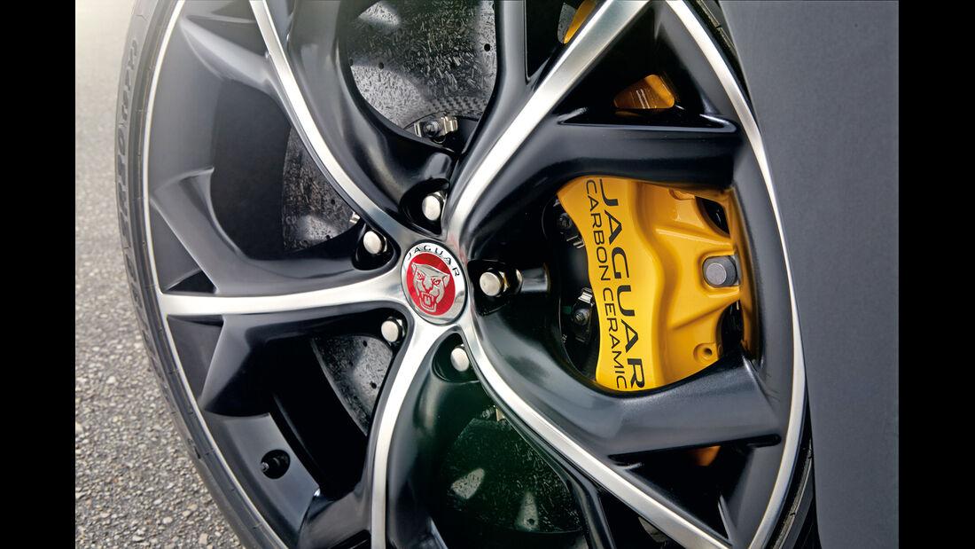 Jaguar F-Type R Coupé, Bremse, Rad, Felge