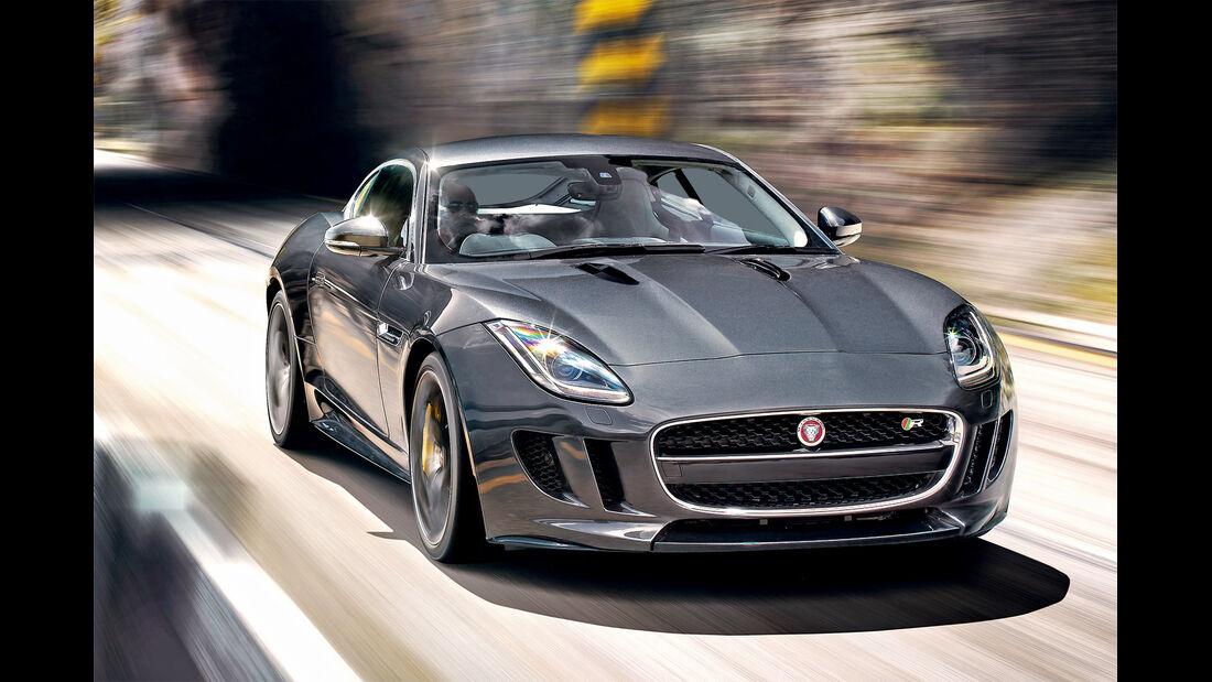 Jaguar F-Type R Coupé, Frontansicht