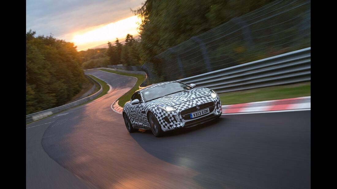 Jaguar F-Type R Coupé, Nordschleife