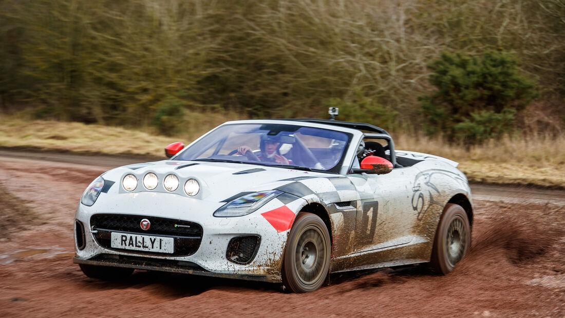Jaguar F-Type Rallye - Fahrbericht England