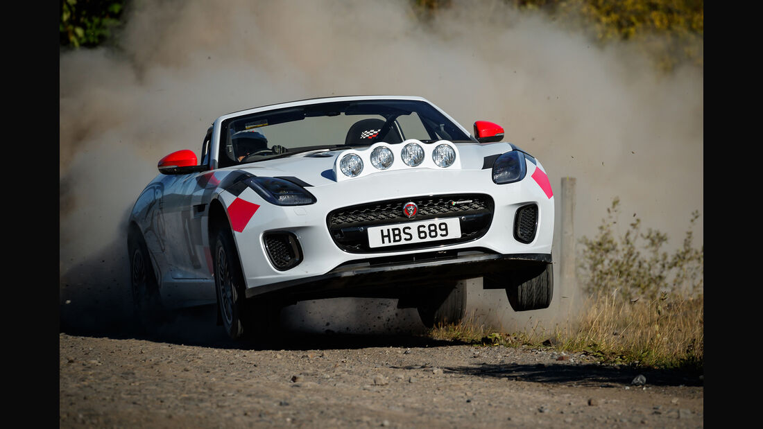 Jaguar F-Type Rallye-Version - 2018