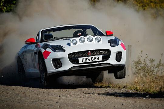 Jaguar F-Type Rallye-Version - 2018