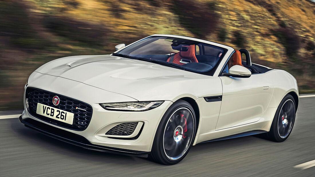 Jaguar F-Type Roadster, Exterieur