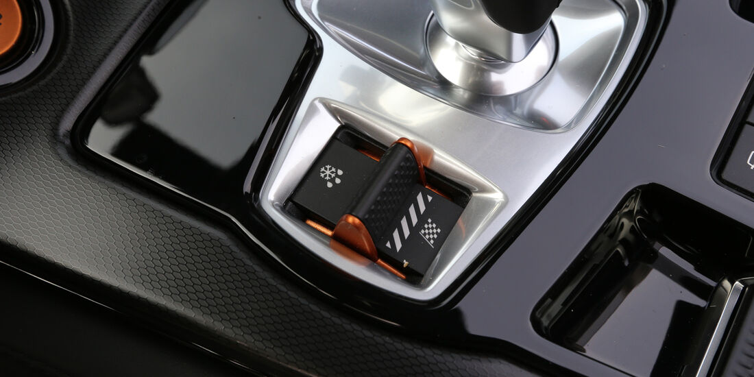 Jaguar F-Type S, Bedienelement