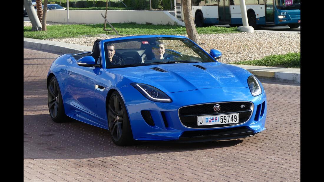 Jaguar F-Type S - Carspotting - Abu Dhabi 2017