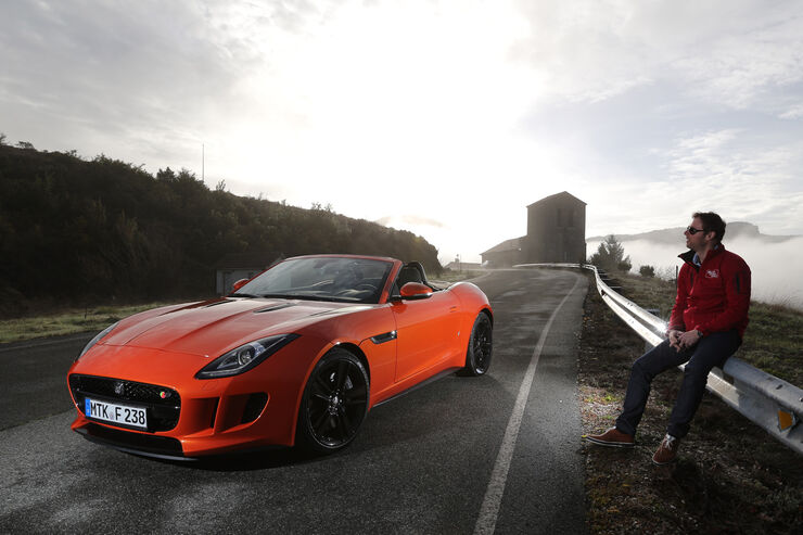 Jaguar F-Type S, Frontansicht, Alexander Bloch