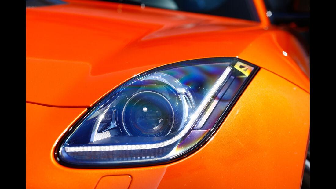 Jaguar F-Type S, Frontscheinwerfer
