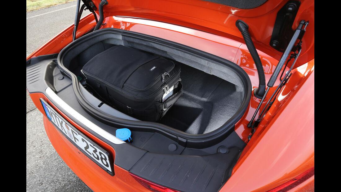 Jaguar F-Type S, Kofferraum