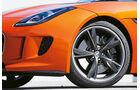 Jaguar F-Type S, Rad, Felge, Bremse
