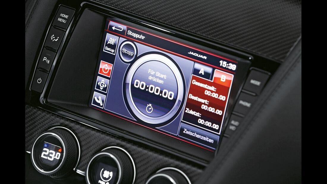 Jaguar F-Type S, Rundenzeit