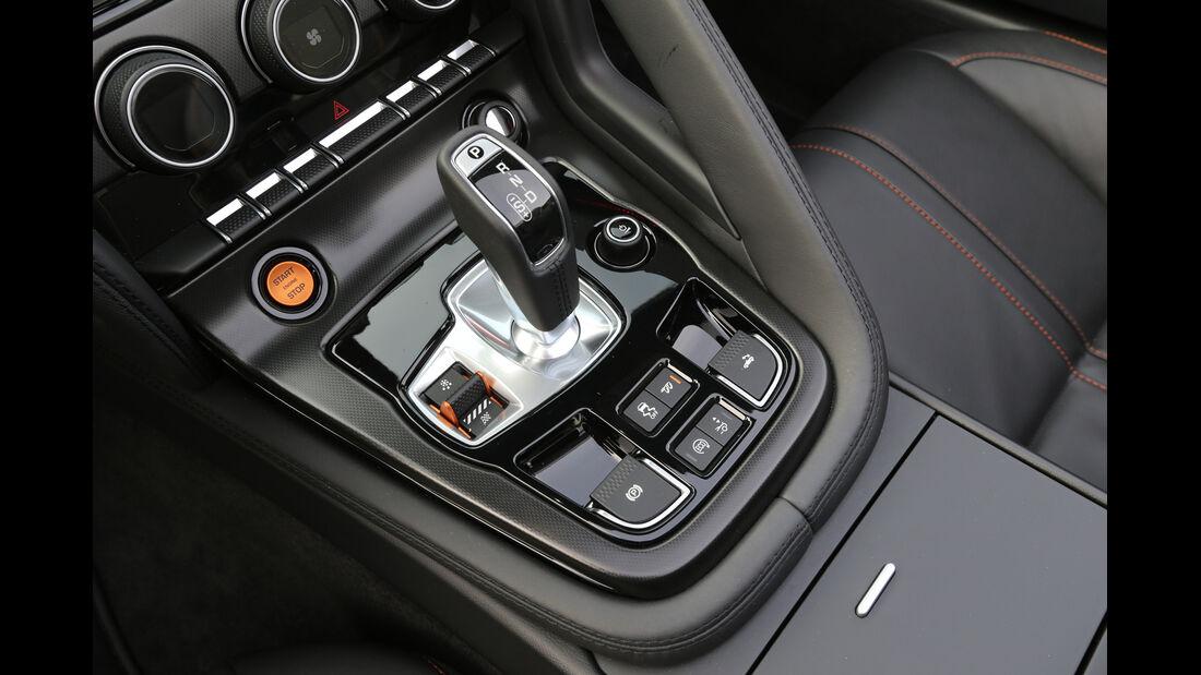 Jaguar F-Type S, Schalthebel, Joystick