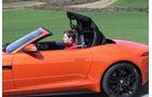 Jaguar F-Type S, Verdeck, öffnet