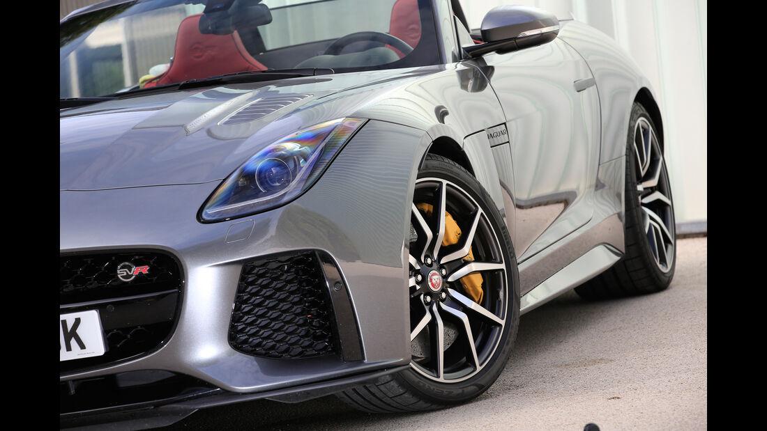 Jaguar F-Type SVR Cabriolet, Rad, Felge