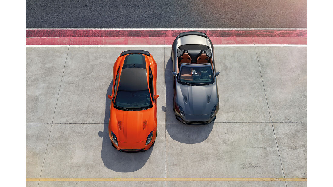 Jaguar F.Type SVR Coupé und Cabrio