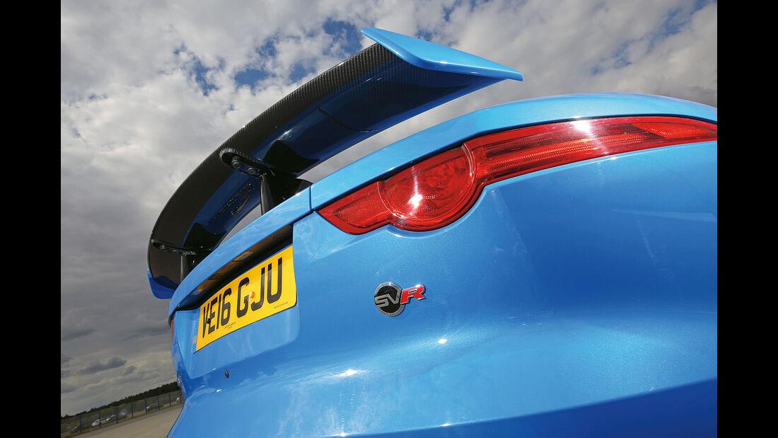 Jaguar F-Type SVR, Heckspoiler