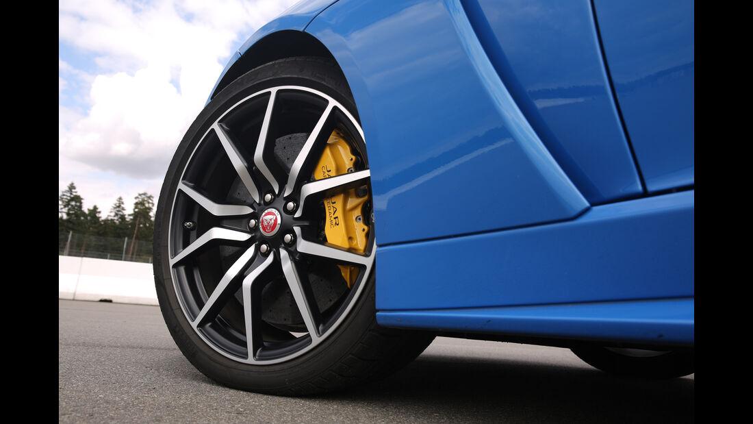 Jaguar F-Type SVR, Rad, Felge