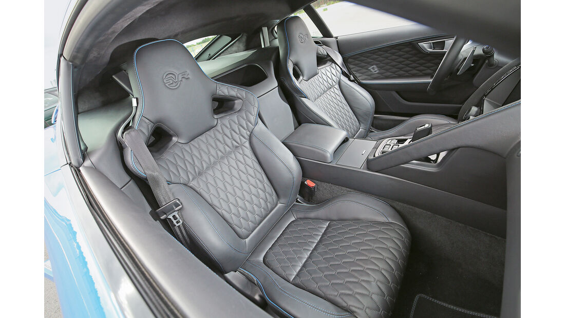 Jaguar F-Type SVR, Sitze