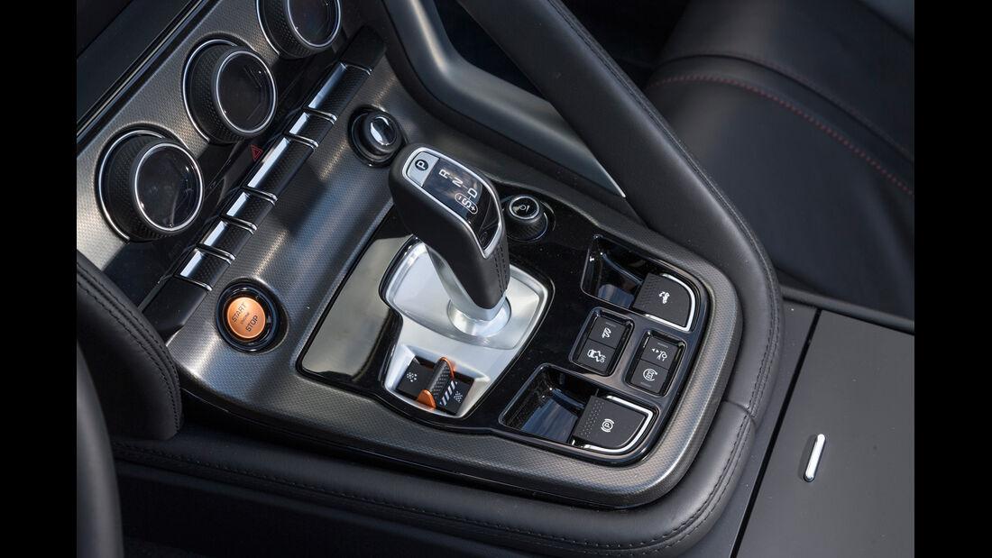 Jaguar F-Type, Schalthebel, Schaltknauf