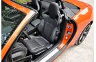 Jaguar F-Type, Sitze