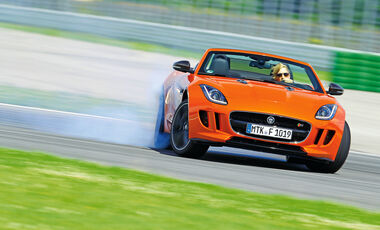 Jaguar F-Type V6 S, Driften, Kuvenfahrt