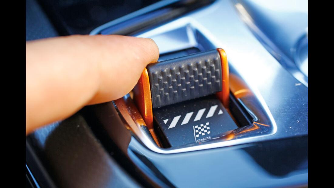Jaguar F-Type V6 S, Fahreinstellung, Bedienelement