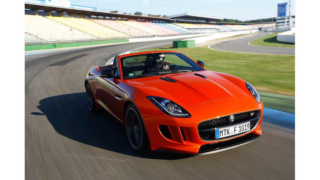 Jaguar F-Type V6 S, Frontansicht