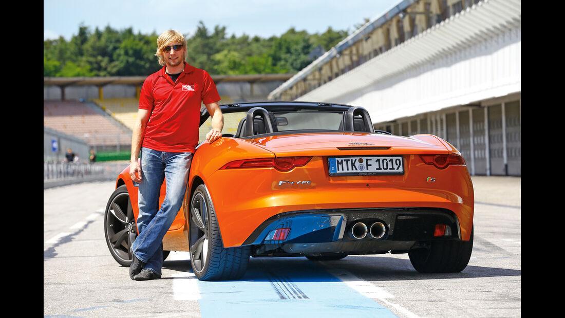 Jaguar F-Type V6 S, Heckansicht, Marcus Peters