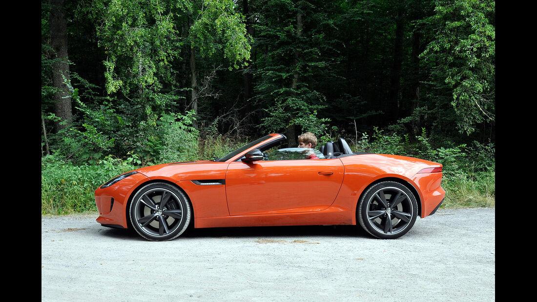 Jaguar F-Type, Verdeck
