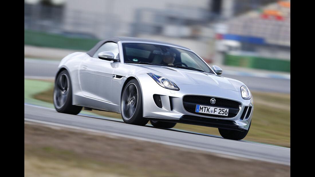 Jaguar F-Type,Vergleichstest, spa 04/2014, Heftvorschau