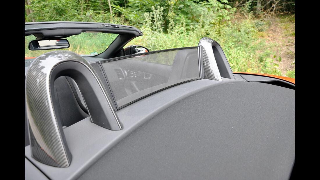 Jaguar F-Type, Windschott