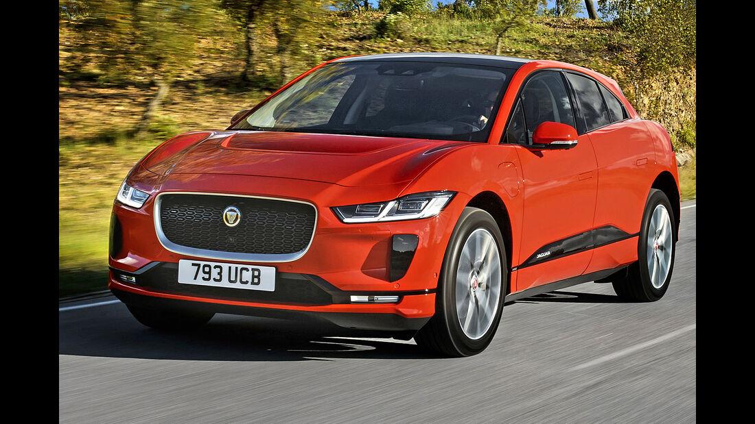 Jaguar I-Pace, Best Cars 2020, Kategorie K Große SUV/Geländewagen