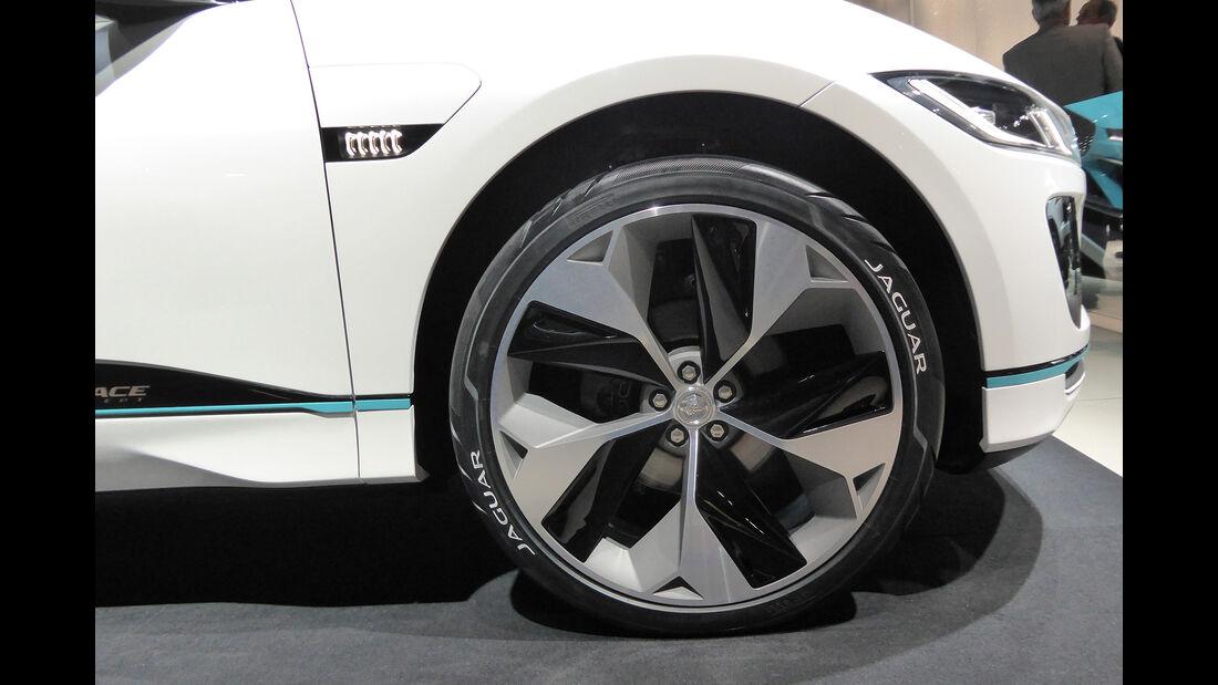 Jaguar I-Pace Concept - Felgen - IAA 2017