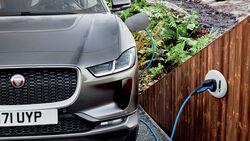 Jaguar I-Pace, Ladestation