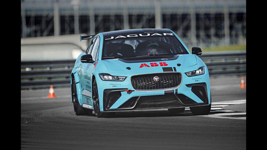 Jaguar I-Pace eTrophy, Exterieur