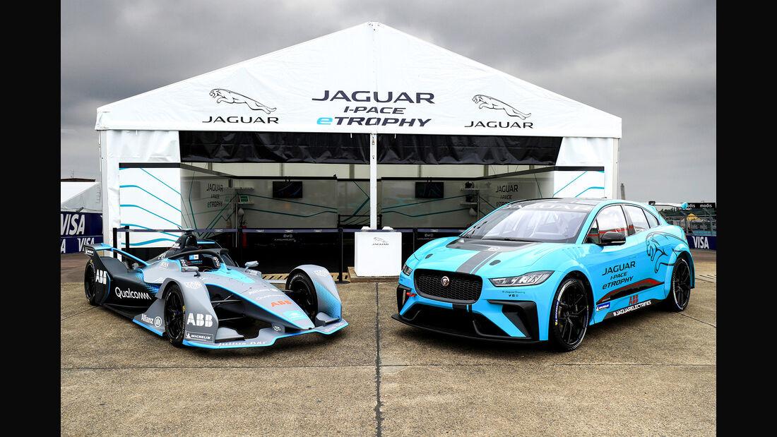 Jaguar I-Pace eTrophy, Rennwagen