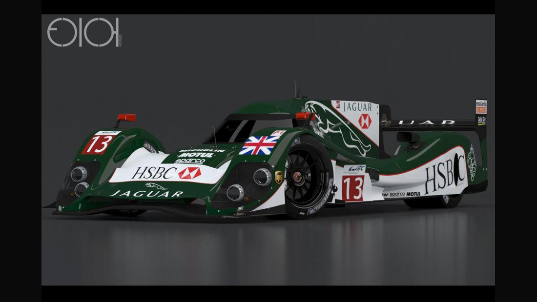 Jaguar LMP1 Concept - Oriol Folch Garcia