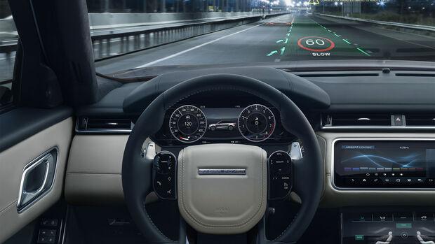 Jaguar Land Rover 3D Display Navigation HUD