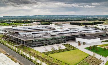 Jaguar Land Rover JLR Technologie Zentrum Gaydon