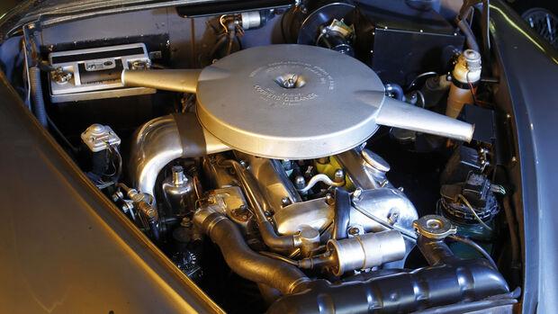 Jaguar MK 2, Motor, Motorraum