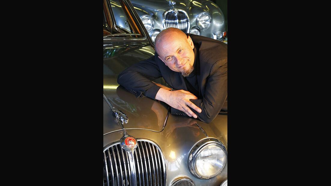 Jaguar MK 2, Porträt, Georg Dönni