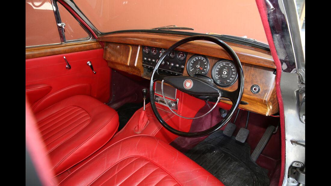 Jaguar MK II, Cockpit, Lenkrad