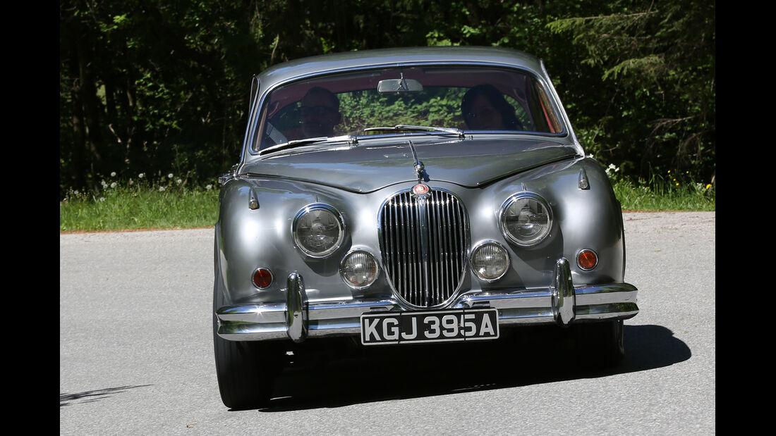 Jaguar MK II, Frontansicht