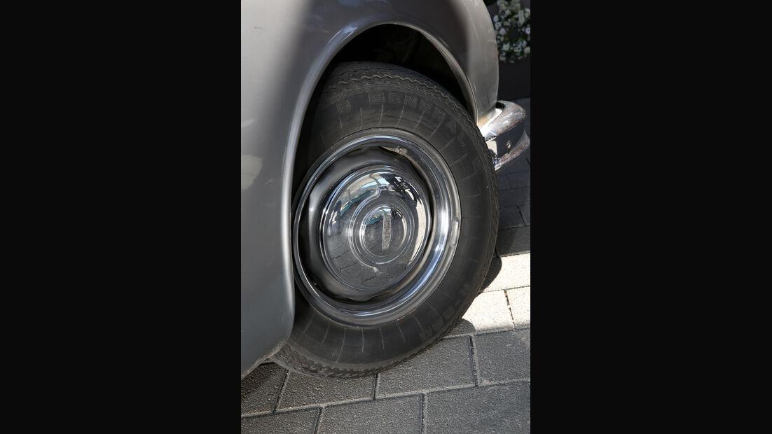 Jaguar MK II, Rad, Felge