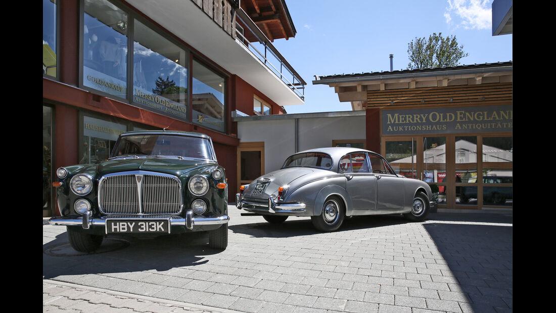 Jaguar MK II, Rover P5B, Innenhof